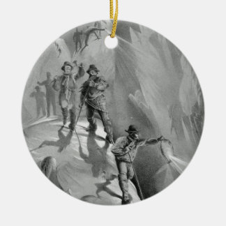 Climbing at Night, from 'Ten Scenes in the Last As Ceramic Ornament
