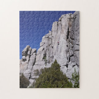 Climbing at the City of Rocks National Reserve Jigsaw Puzzles