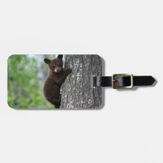 Climbing Bear Cub Bag Tag
