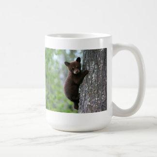 Climbing Bear Cub Coffee Mug