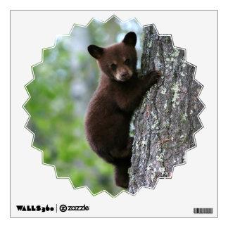 Climbing Bear Cub Wall Sticker