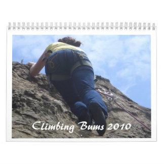 Climbing Bums 2010 Calendar