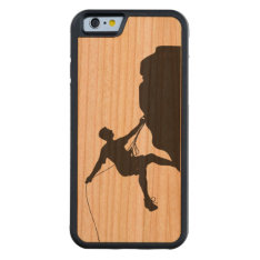 Climbing Carved Cherry Iphone 6 Bumper Case at Zazzle