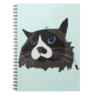 """Climbing Cat-mandu"" Notebook"