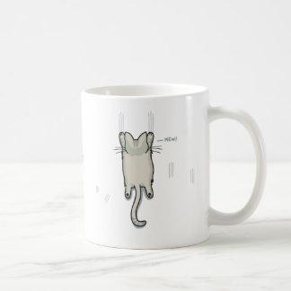 Climbing Cat Coffee Mugs
