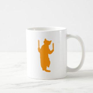 Climbing Cat (Orange) Coffee Mug