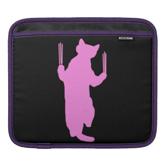 Climbing Cat (Pink) Sleeve For iPads