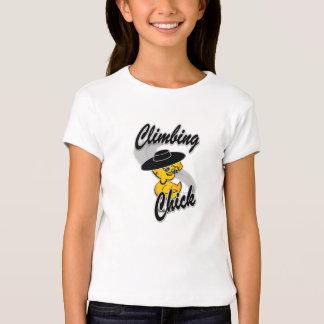 Climbing Chick #4 T-Shirt