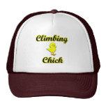 Climbing Chick Mesh Hats