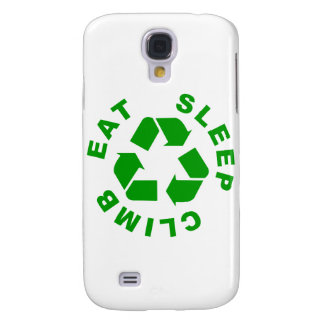 Climbing Cycle Galaxy S4 Cover