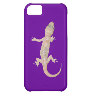 Climbing Gecko on Purple Cover For iPhone 5C