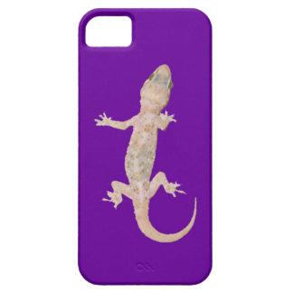 Climbing Gecko on Purple iPhone SE/5/5s Case
