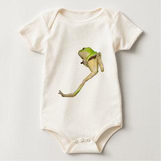 Climbing Giant Waxy Monkey Tree Frog Baby Bodysuit