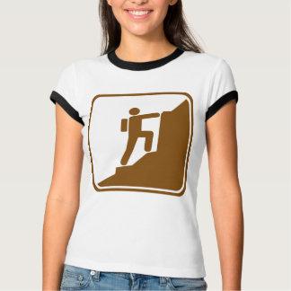 Climbing Highway Sign T-Shirt