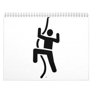Climbing icon wall calendars