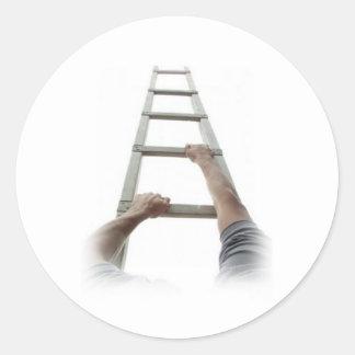 Climbing Jacob's Ladder Sticker