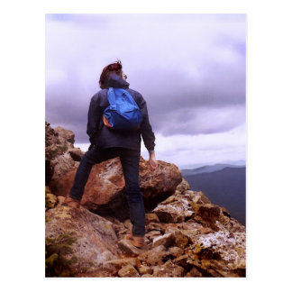 Climbing Mt. Eisenhower Postcard