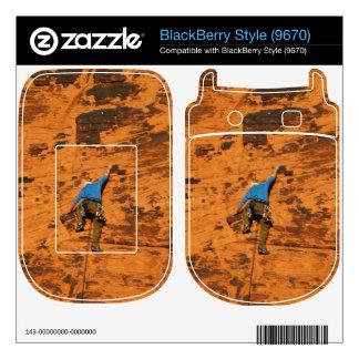 Climbing on Red Rocks Skin For BlackBerry