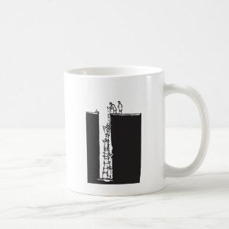 Climbing out of a Hole Coffee Mug