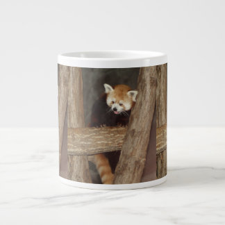 Climbing Panda Large Coffee Mug