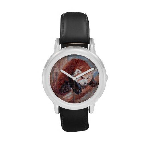 Climbing Panda Wristwatch
