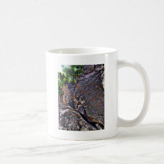 Climbing Rocks And Trees Coffee Mug