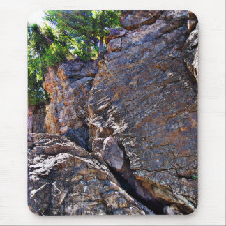 Climbing Rocks And Trees Mouse Pad
