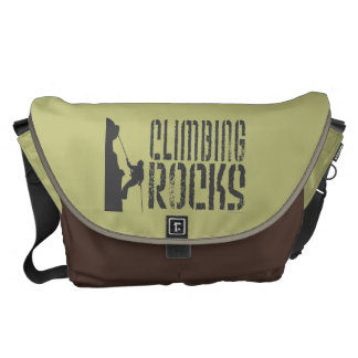 Climbing Rocks Messenger Bag