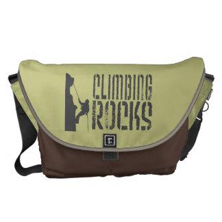 Climbing Rocks Messenger Bag