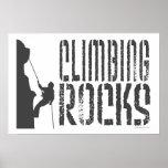 Climbing Rocks Posters