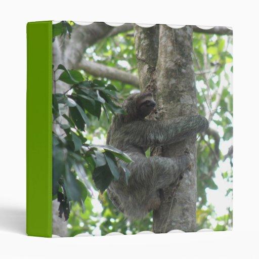 Climbing Sloth  Binder