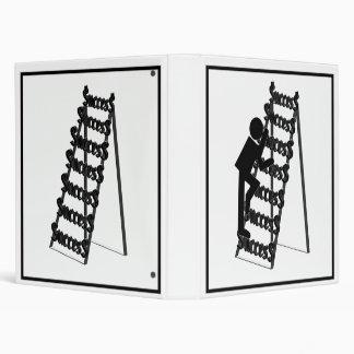 Climbing the Ladder of Success 3 Ring Binder
