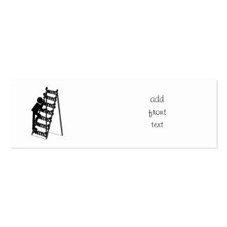 Climbing the Ladder of Success Business Card Template
