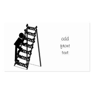 Climbing the Ladder of Success Business Card