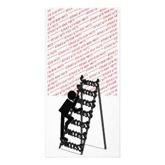 Climbing the Ladder of Success Card