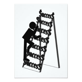 Climbing the Ladder of Success Card