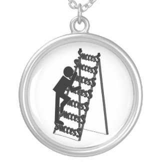 Climbing the Ladder of Success Custom Necklace