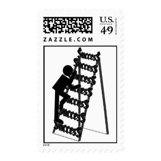 Climbing the Ladder of Success Postage