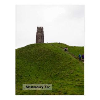Climbing the Tor Postcard