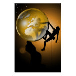 Climbing the world posters