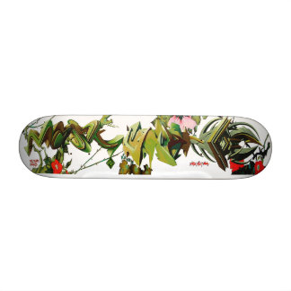 Climbing Thorny Tag Roses -  Skate Deck Art