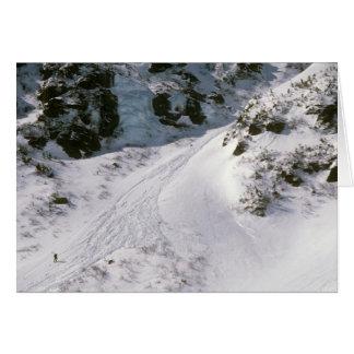 Climbing Tuckerman's Ravine, Mount Washington Card