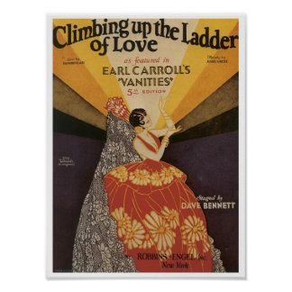 Climbing Up The Ladder Of Love Songbook Cover Poster