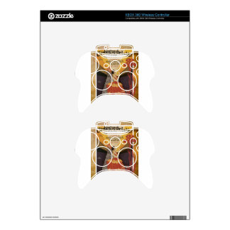 Climbing Up The Ladder Of Love Vintage Sheet Music Xbox 360 Controller Skin
