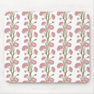 Climbing Vines of Pink Roses Mousepads