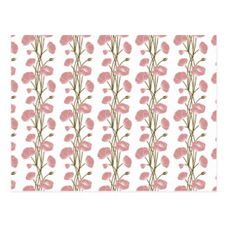 Climbing Vines of Pink Roses Postcard