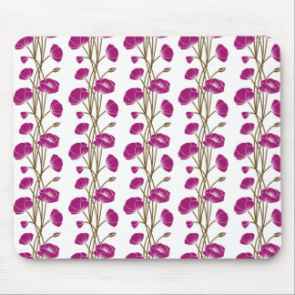 Climbing Vines of Plum Roses Mouse Pad