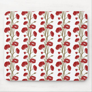 Climbing Vines of Red Roses Mousepad