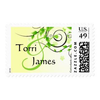 Climbing Vines Postage Stamp