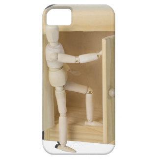 ClimbingOutOfWardrobe061615.png iPhone SE/5/5s Case